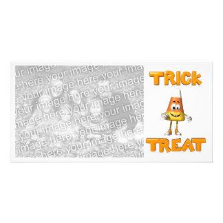 Halloween Candy Photocard Card