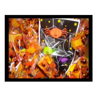 Halloween Candy Postcards