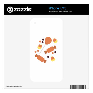 Halloween Candy Skins For iPhone 4