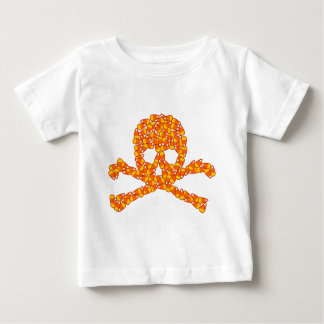 Halloween Candy Skull Baby T-Shirt