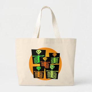 Halloween Candy Totes Canvas Bag