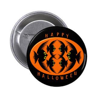 Halloween canta botón pin redondo de 2 pulgadas