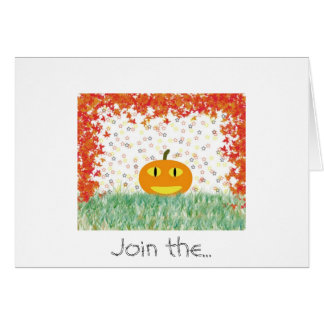 Halloween Stationery Note Card