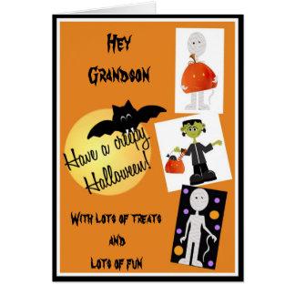 Halloween Card for Grandson
