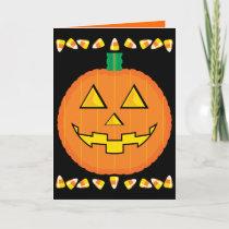 Halloween Card for kids