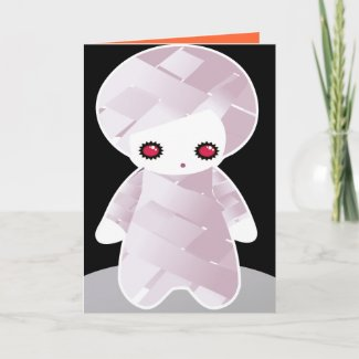 Halloween Card for kids - Mummy Loves You! card