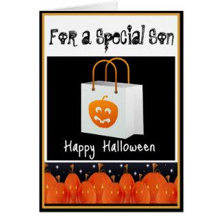 Halloween Card for Son