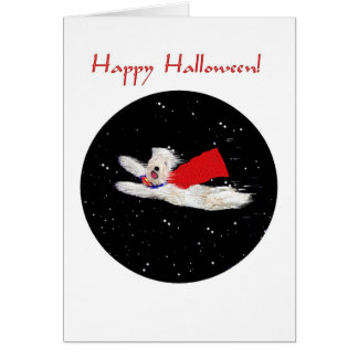 Halloween Card:  Superdog