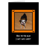 Halloween Card - What do you mean I can't have...