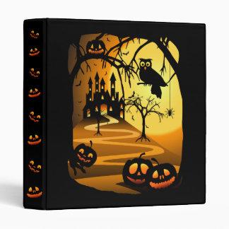 Halloween Castle Binder