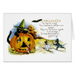 Halloween Cat and Mouse Card