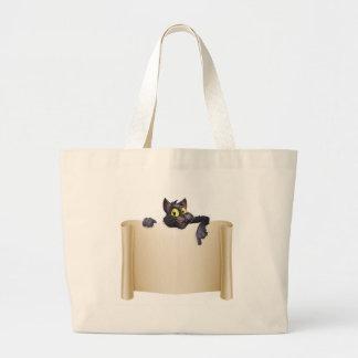 Halloween Cat Banner Bag