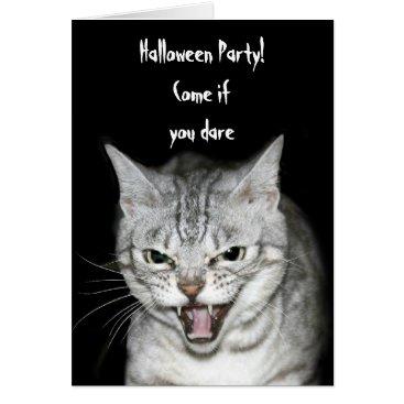 Halloween Themed Halloween cat card