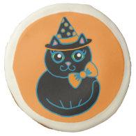 Halloween Cat Cookies Sugar Cookie