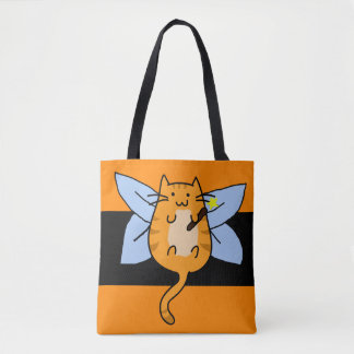 Halloween Cat Costume Fairy Trick or Treat Bag