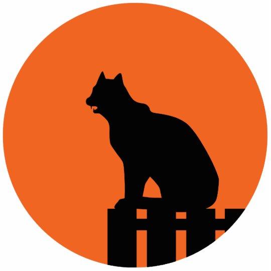Halloween Cat Cutout