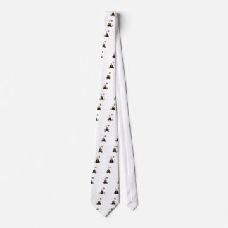 Halloween cat love Goodies Neck Tie
