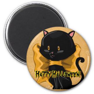 Halloween Cat Magnet