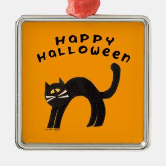 Halloween Cat Ornaments