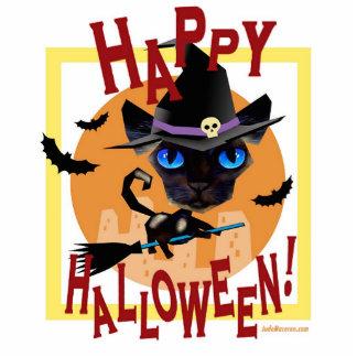 Halloween Cat Party Art - Multi Cutout
