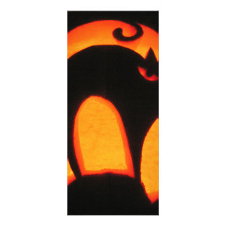 Halloween Cat Rack Card