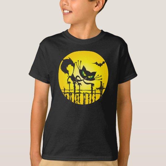 Halloween Cat Shirt for Kids  - No words