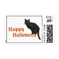 Halloween Cat Stamps