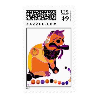 Halloween Cat Stamps Postage