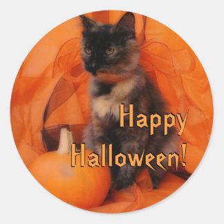 Halloween Cat Stickers