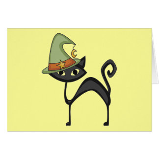 Halloween Cat T-shirts and Gifts Cards