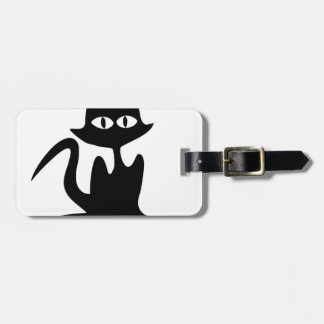 Halloween Cat Tag For Luggage