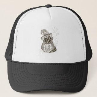 Halloween Cat Trucker Hat