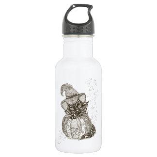 Halloween Cat Water Bottle