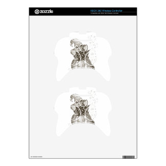 Halloween Cat Xbox 360 Controller Decal