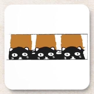 Halloween Cats Coaster