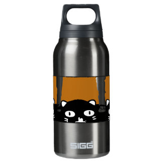 Halloween Cats Insulated Water Bottle