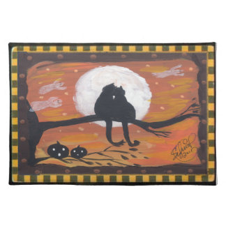 Halloween Cats Placemat