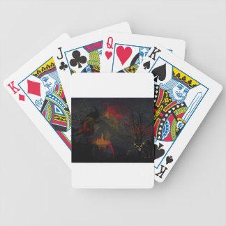 Halloween Cauldron Bicycle Playing Cards