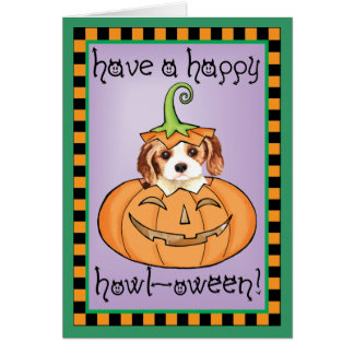 Halloween Cavalier Card