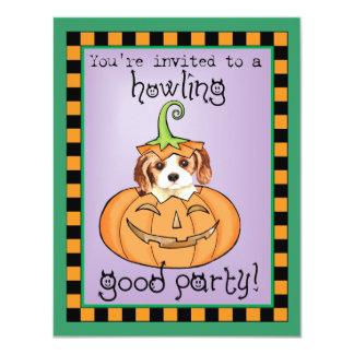 Halloween Cavalier Personalized Invite