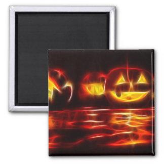 Halloween Celebration 2 Inch Square Magnet