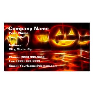Halloween Celebration Business Card