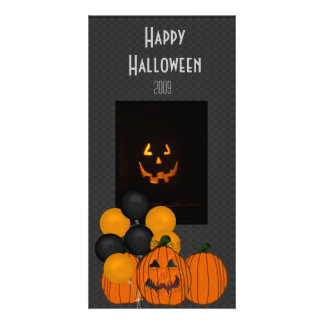 Halloween Celebration Photo Card