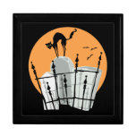 Halloween Cemetery Cat Gift Boxes