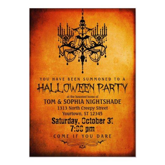 Halloween Invitation Sivandearest