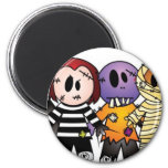 Halloween Characters Refrigerator Magnets