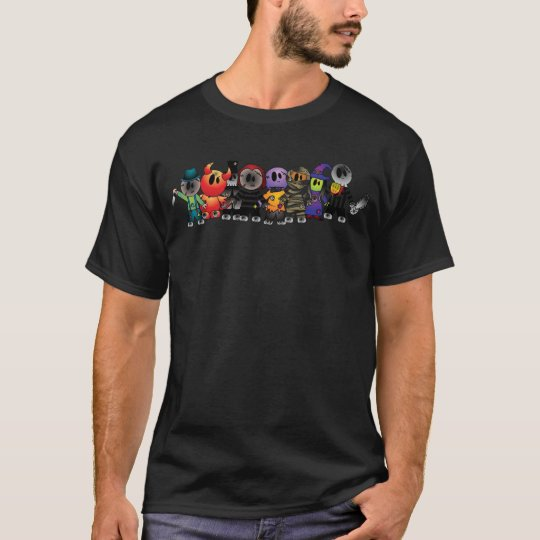 Halloween Characters T-Shirt