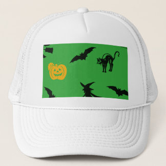 Halloween Characters Trucker Hat