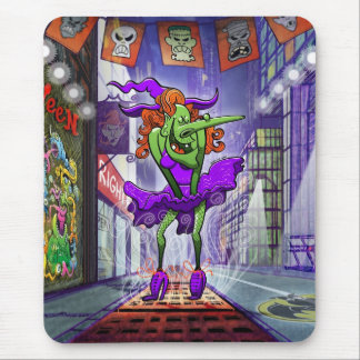 Halloween Charming Witch Mousepad