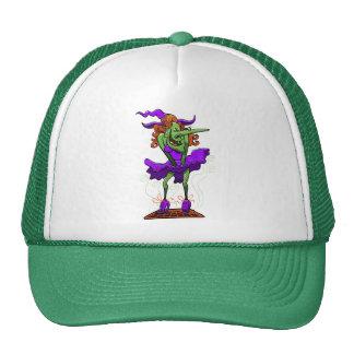 Halloween Charming Witch Trucker Hat